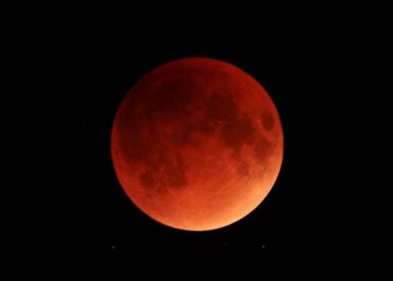 Superluna di Sangue (Foto IlMeteo)
