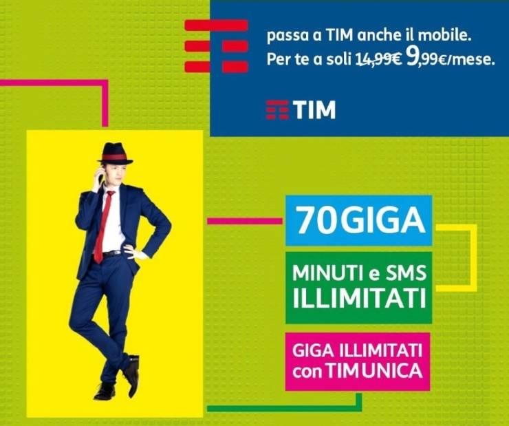Tim Special 70, nuova offerta