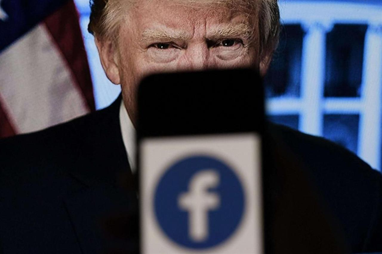 """Donald Trump, Facebook conferma il blocco del profilo: """"Vergogna!"""""""