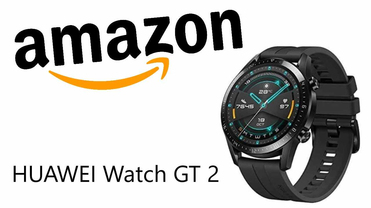 Sconto Amazon su HUAWEI Watch GT 2