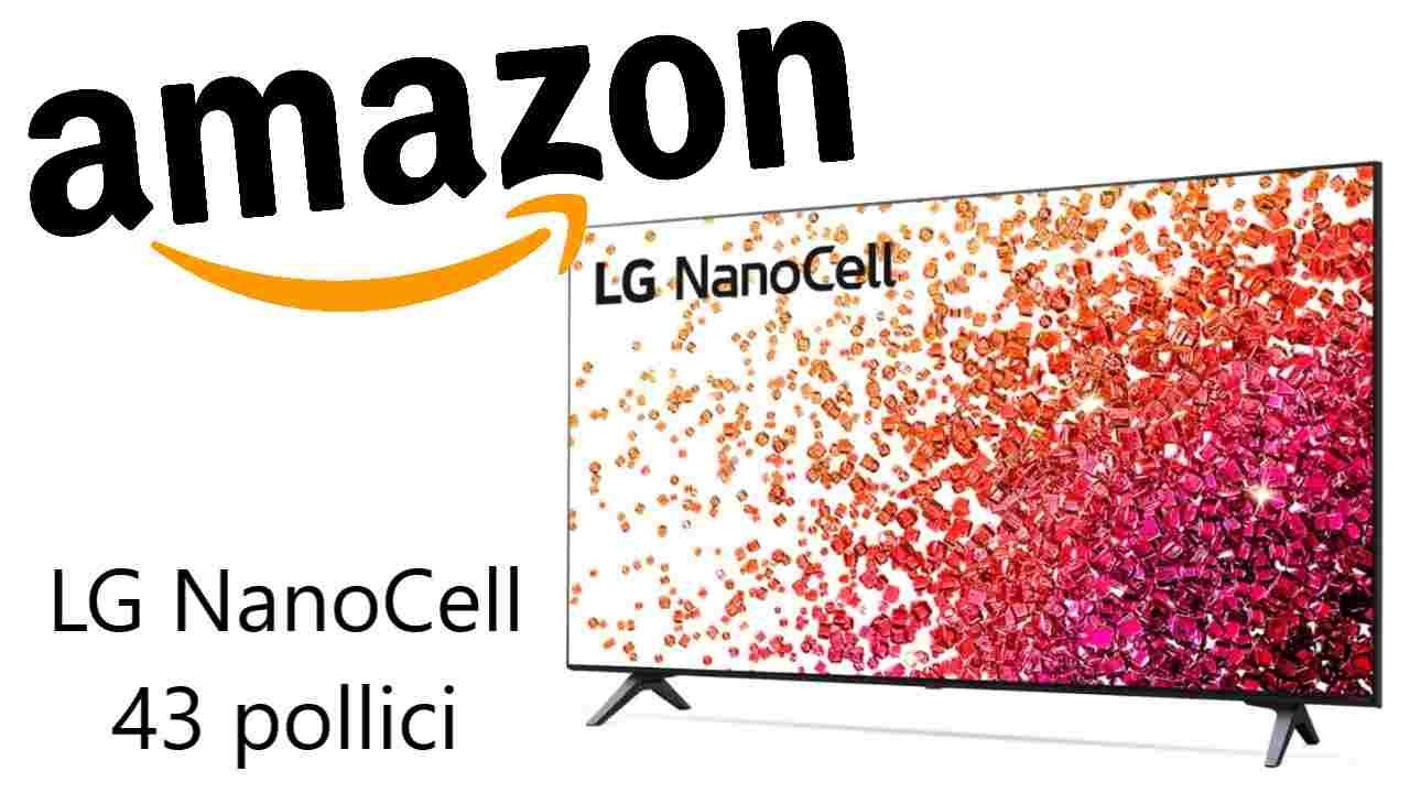 Sconto Amazon su LG NanoCell