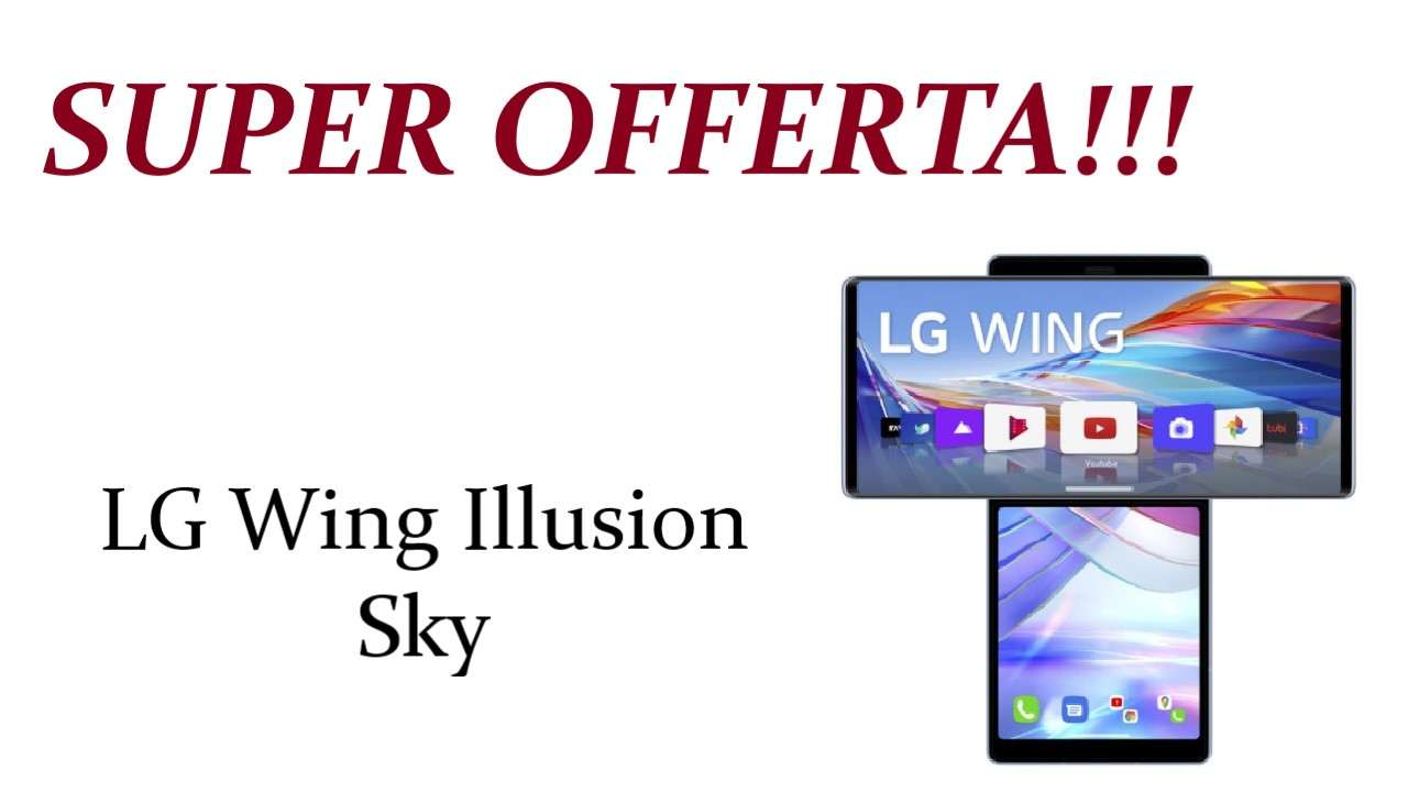 Sconto su LG Wing