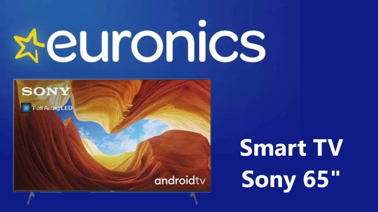 Sconto su Sony Smart TV 65 pollici