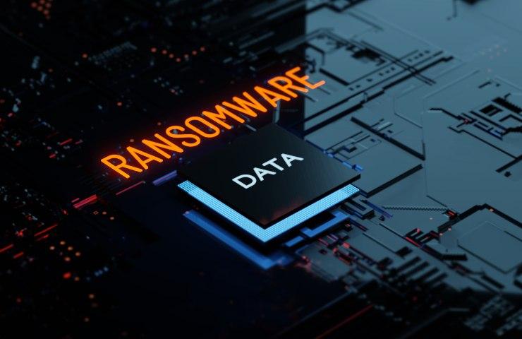 Ransomware PC Keyboard