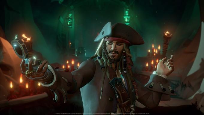 Jack Sparrow sbarca in Sea of Thieves