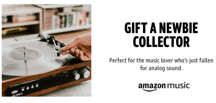 Amazon Vinyl club of the month: i dettagli