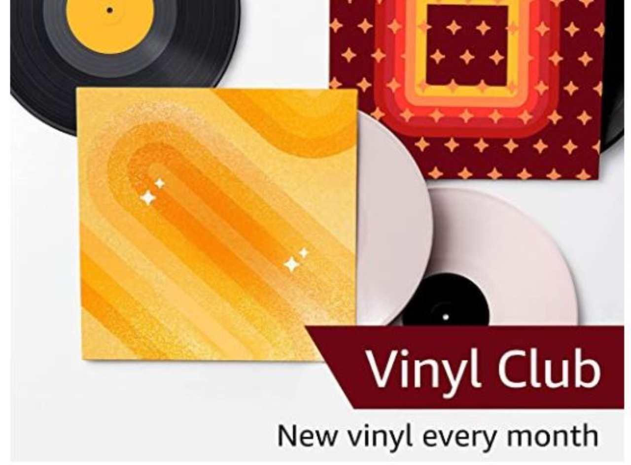 Amazon Vinyl club of the month