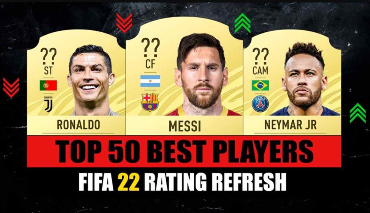Fifa 22, top 100 giocatori, classifica (Utplay)