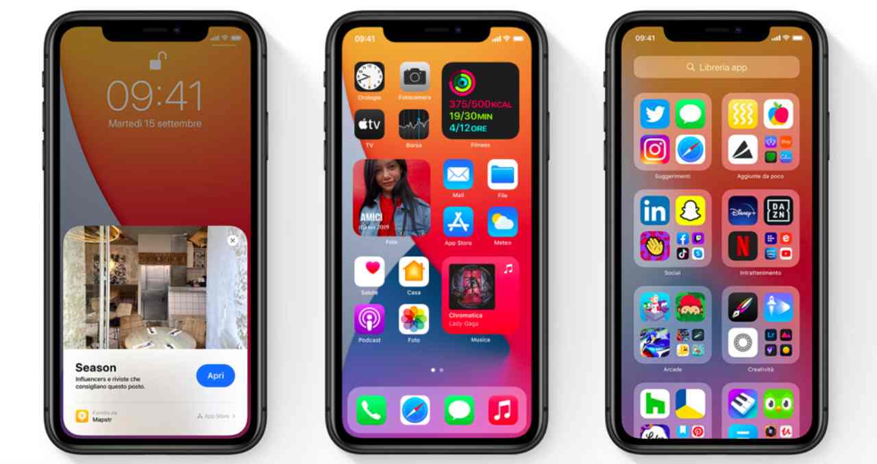 iOS 15 e iPhone: così spariscono gli ex
