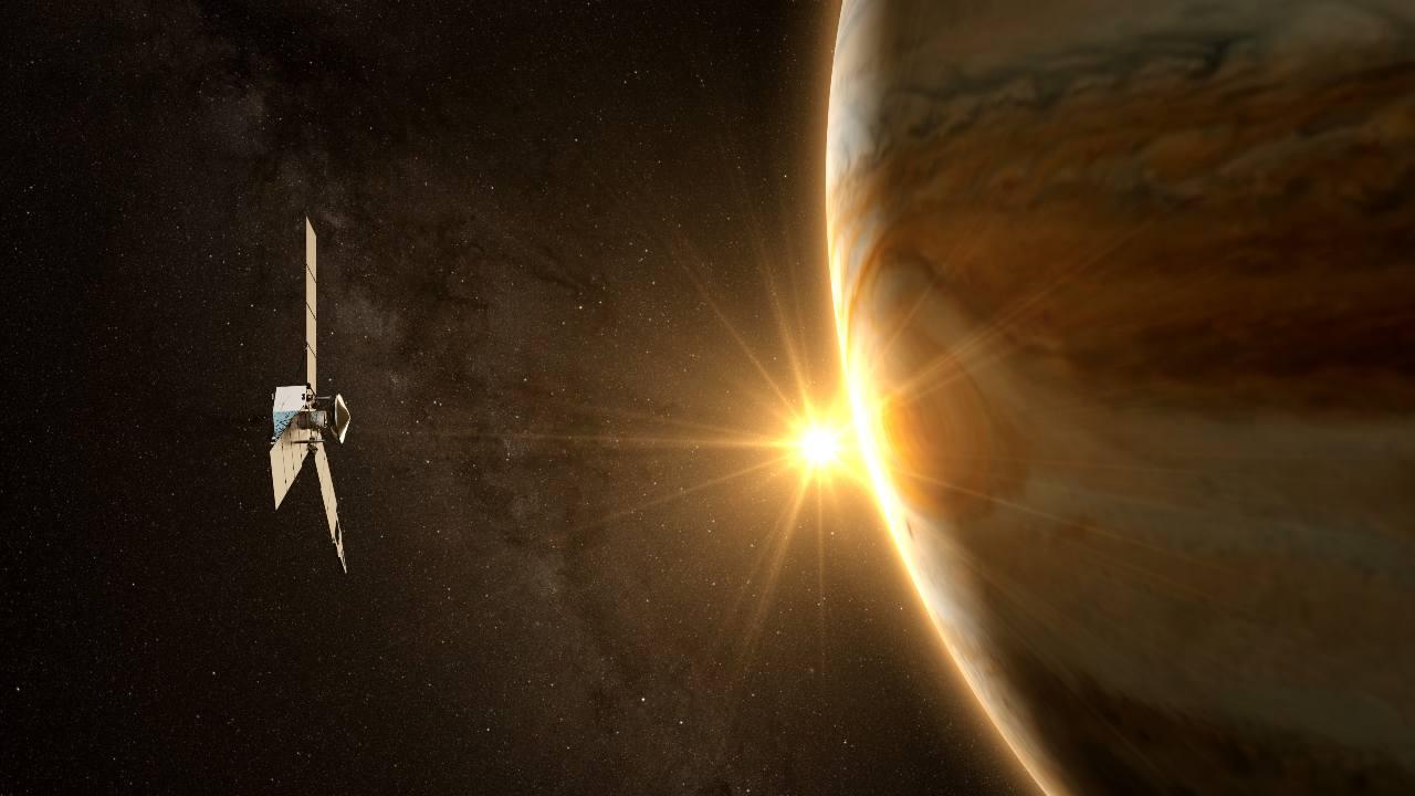 Juno s'avvicina a Ganimede (Adobe Stock)