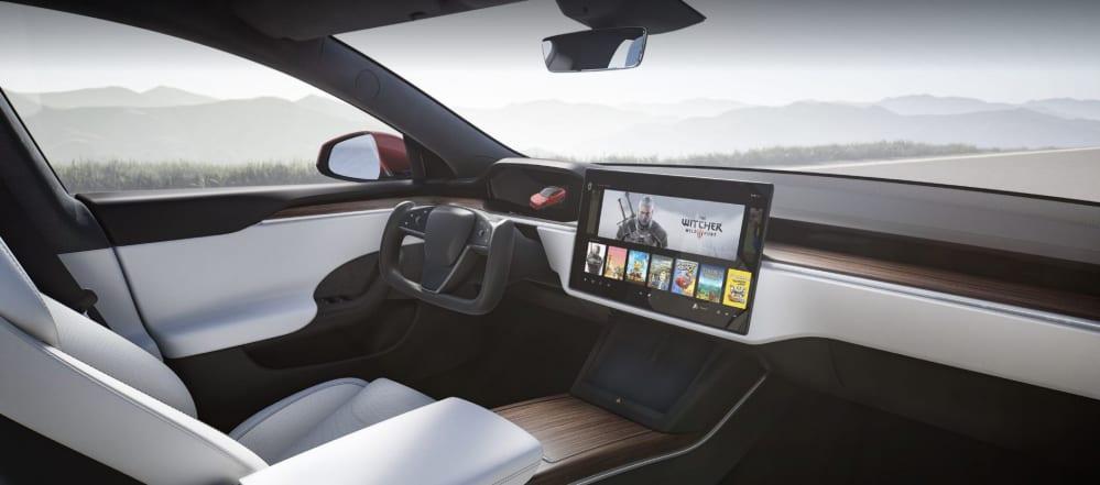 Tesla Model S potente