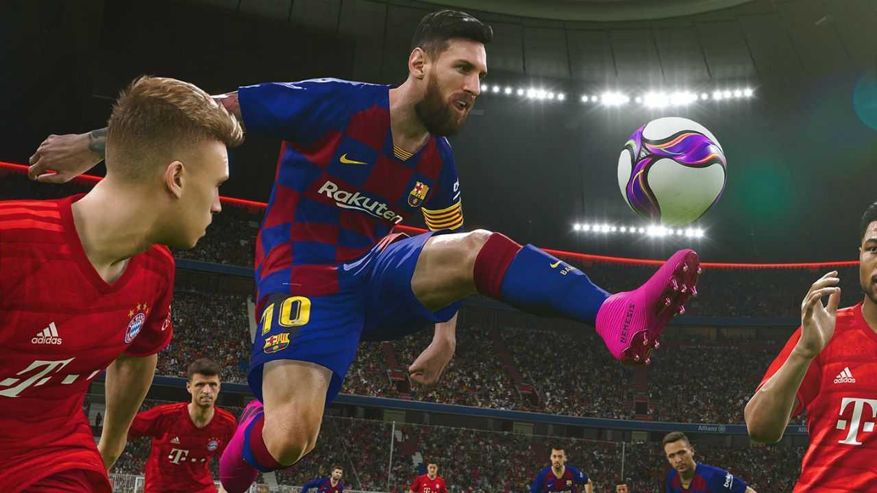 Pes 2022, Messi, la grafica fotorealistica e...