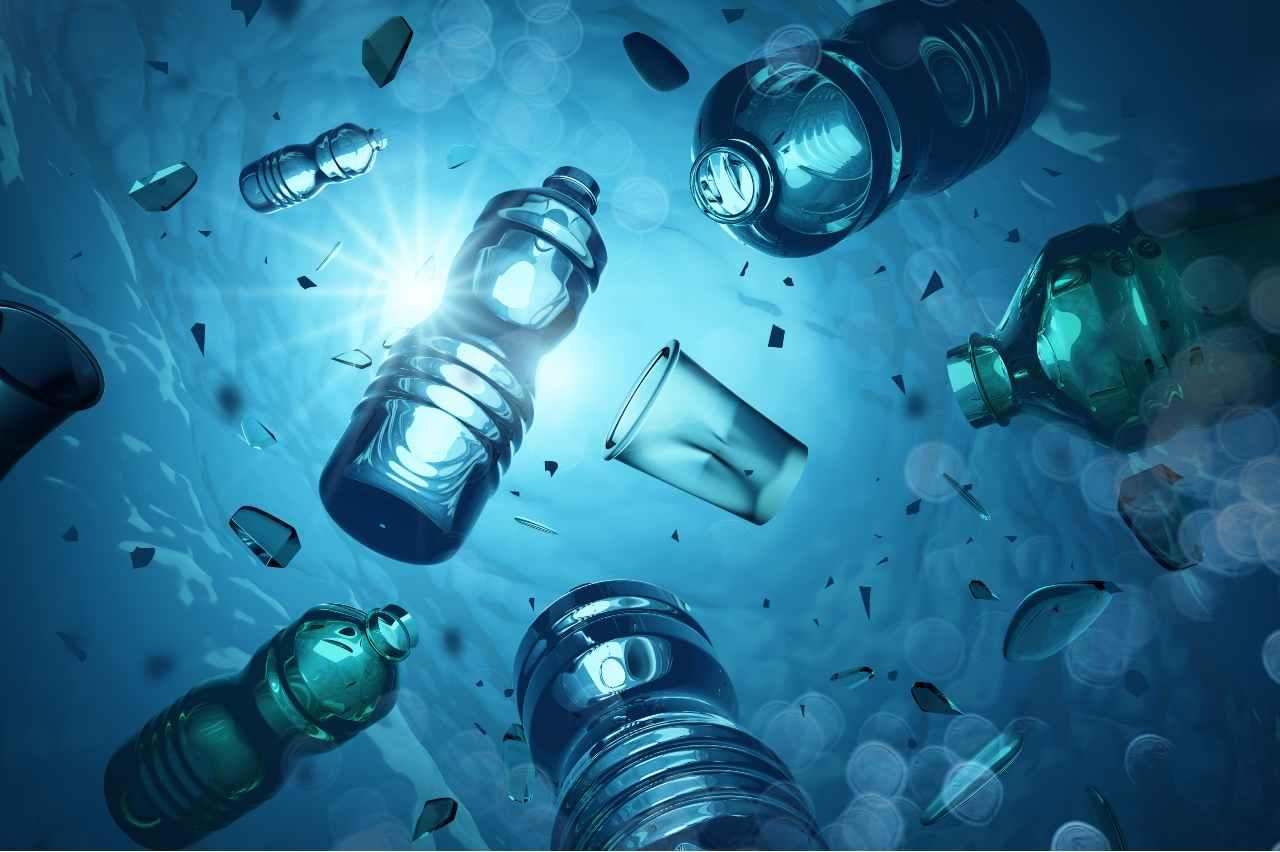 La plastica può essere non solo riciclata ma trasformata (Adobe Stock)