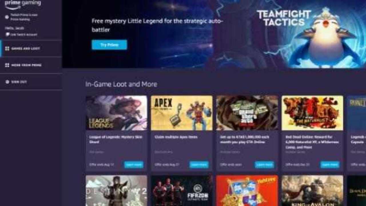 Amazon Prime, giochi gratis