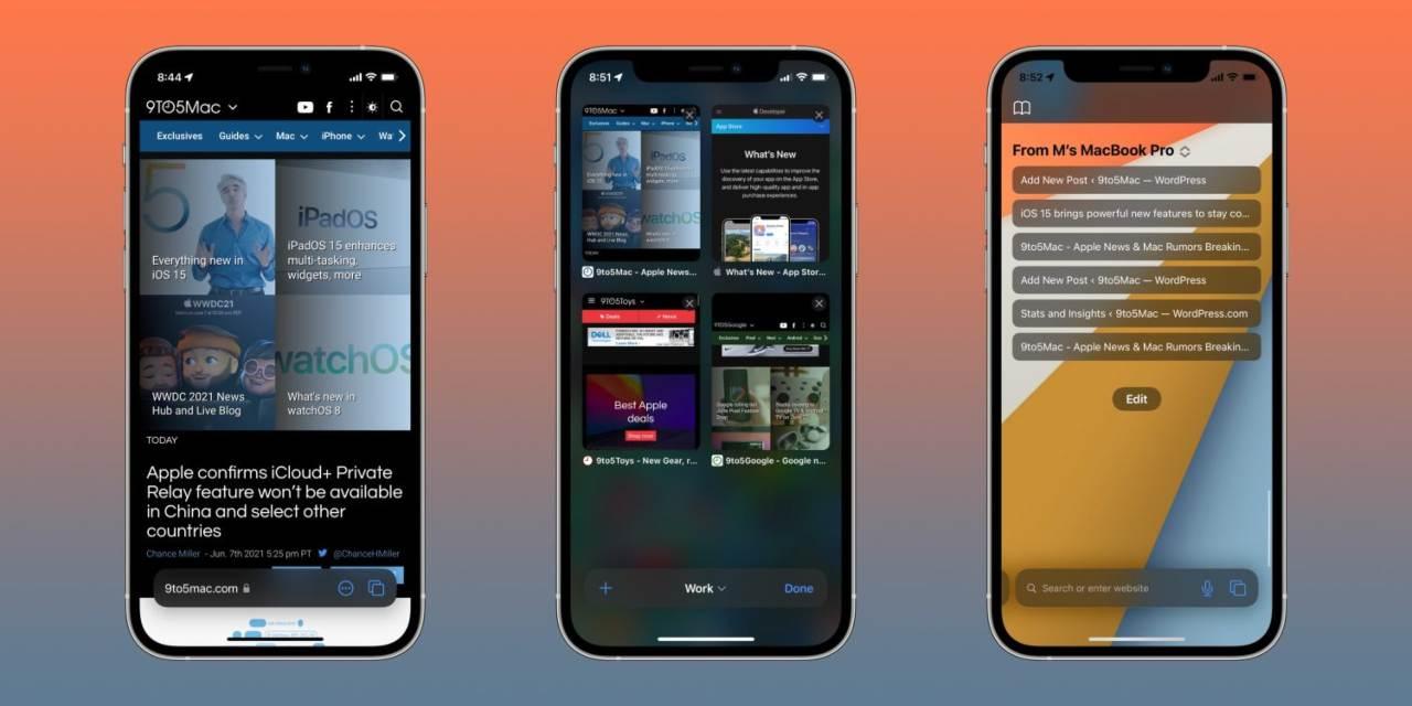 Apple ha presentato il nuovo Safari (Foto 9to5mac)