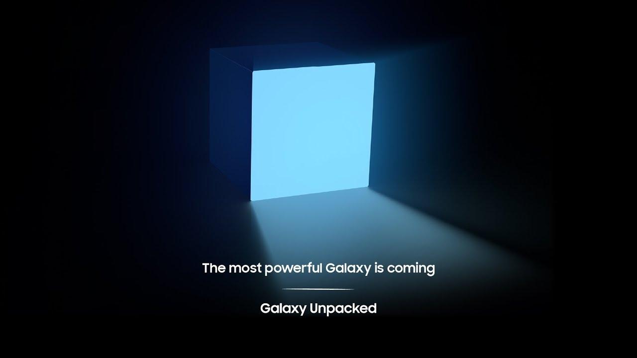 Data e prodotti del Samsung Galaxy Unpacked 2021