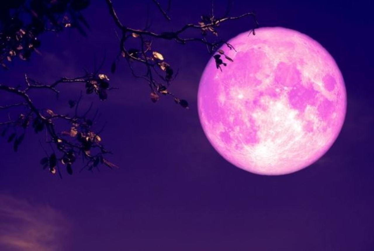 Superluna di Fragola (Foto IlMeteo)