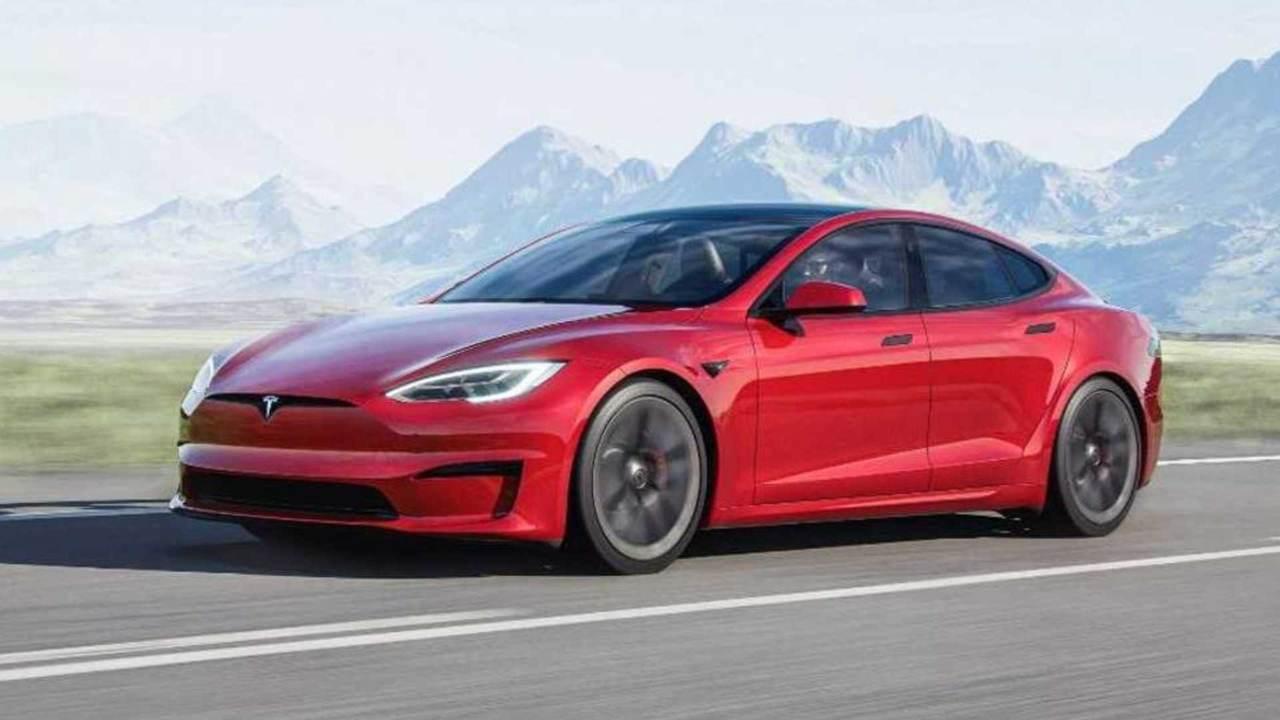 Tesla Model S Plaid+ (Foto Motor1)