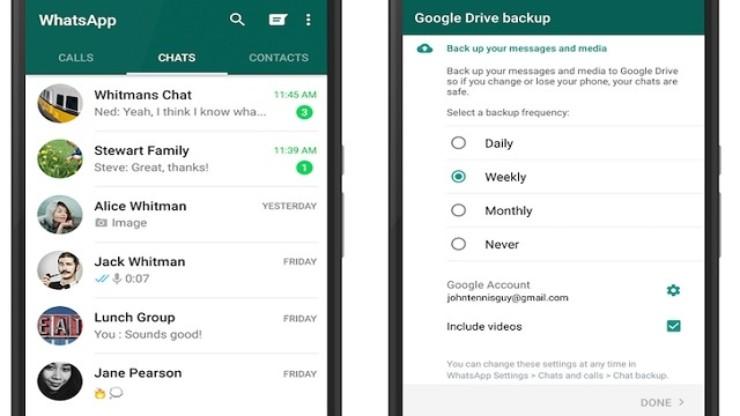 WhatsApp, così si vedono foto e video senza accedere all'app (Foto Fastweb)