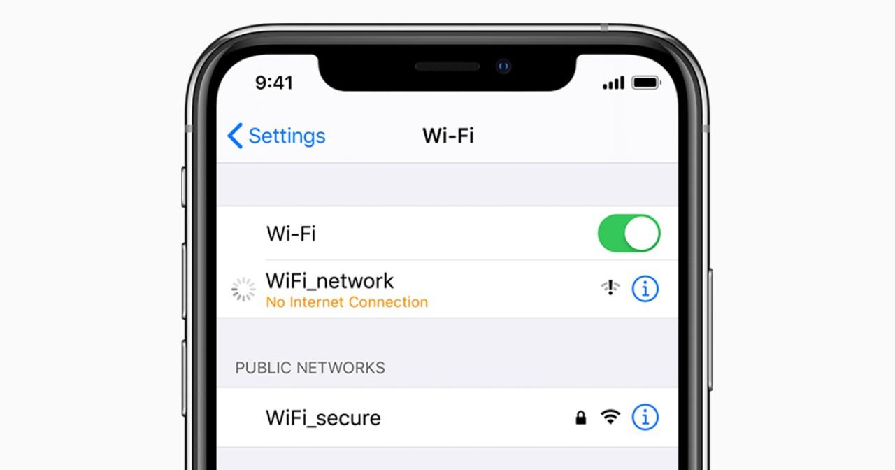 La rete Wi-Fi che fa impazzire l'iPhone (Foto Apple)