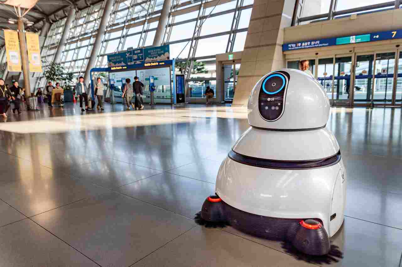 robot autonomo