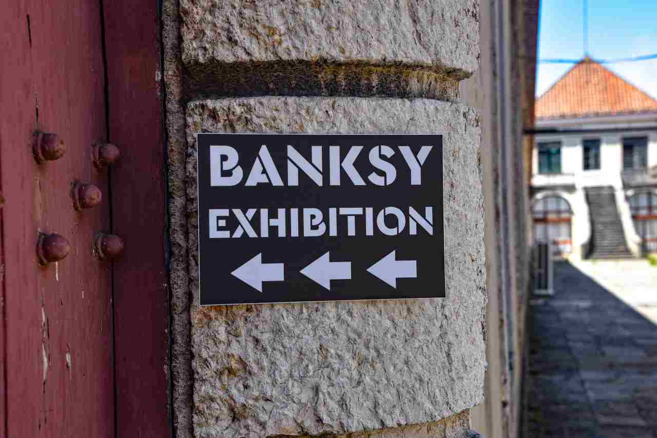 Bansky, esibizione a Lisbona (Adobe Stock)
