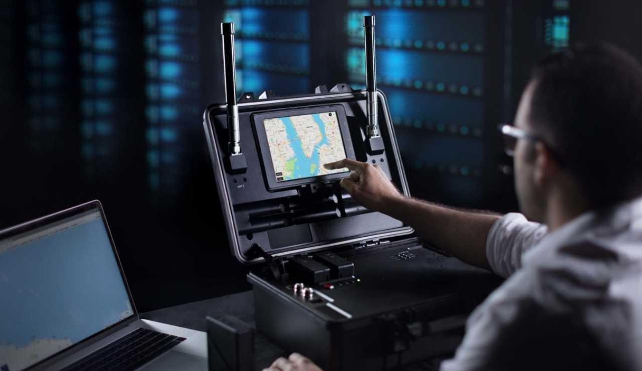 Tracciamento con DJI Aeroscope