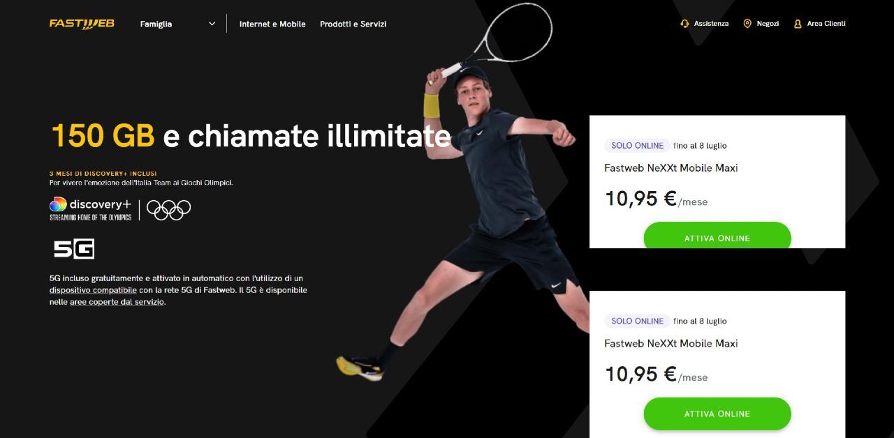 La nuova clamorosa offerta Fastweb con 3 mesi in regalo (Fastweb)