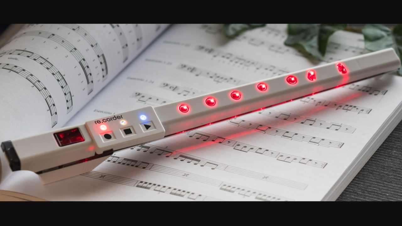 Flauto dolce elettronico