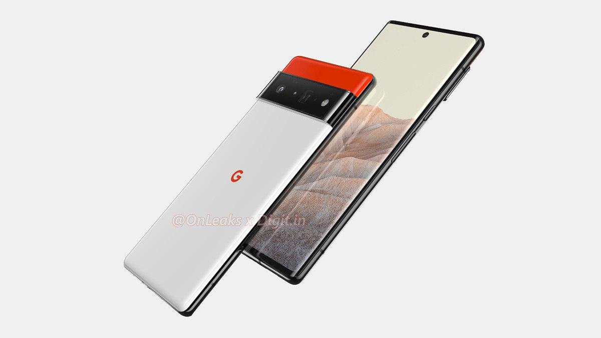 Google Pixel 6 in arrivo (Foto OnLeaks)