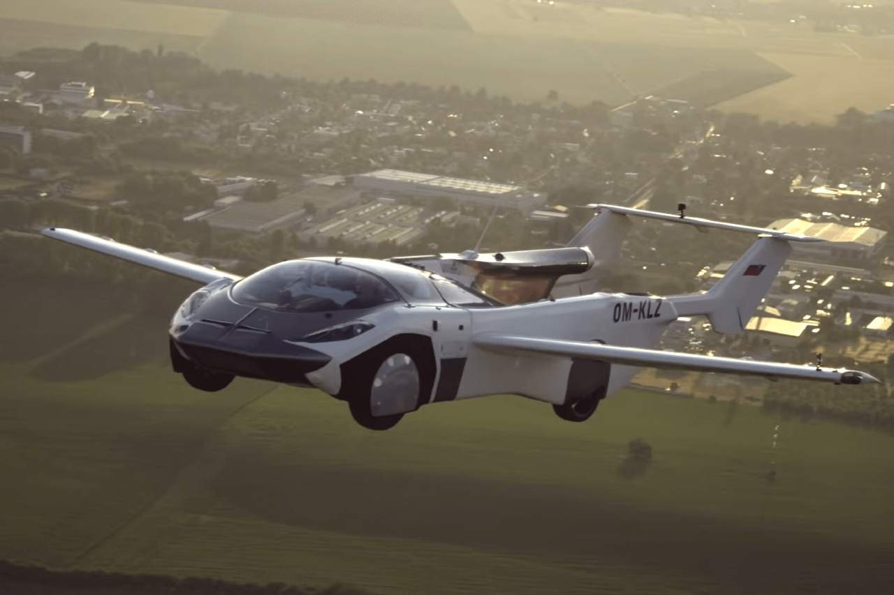 Nasce l'auto volante è l'Air Car Klein Vision (Foto Klein Vision)