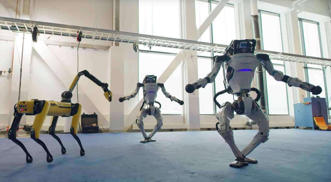 L'incredibile ballo dei robot di Boston Dynamics (Photo by Boston Dynamics)