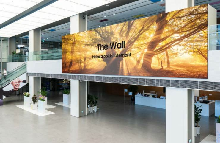 Samsung The Wall (news.samsung.com)