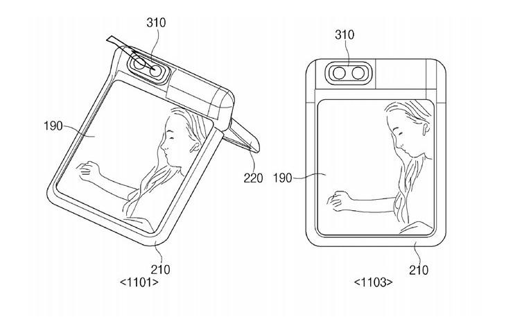 Samsung fotocamera pieghevoli (hdblog)