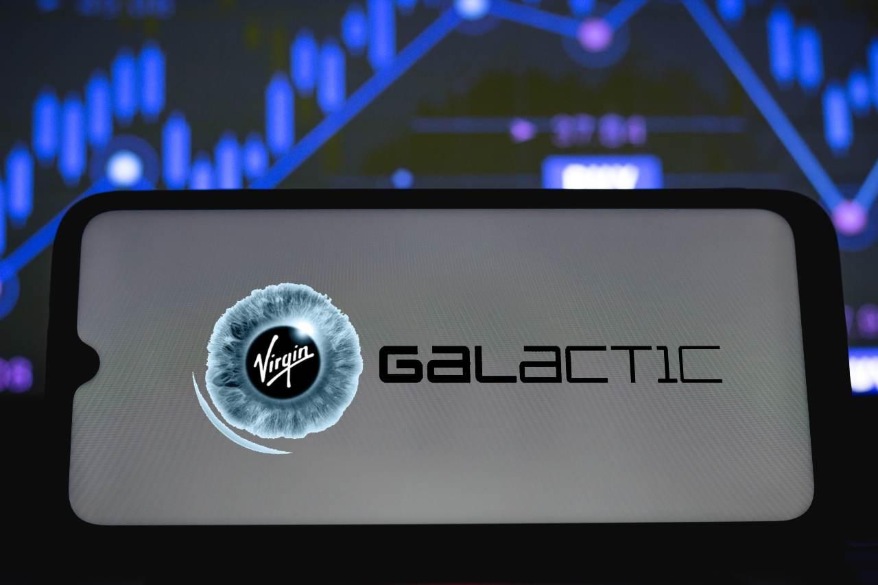Virgin Galactic, il logo (Adobe Stock)