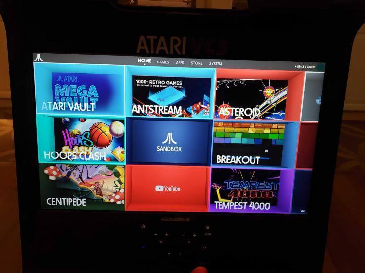 Atari VCS, ecco la nuova console: che spettacolo! (Foto Gamebit)