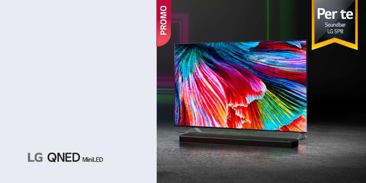 Lg presenta i nuovi LG Tv QNED con mini LED (foto LG)