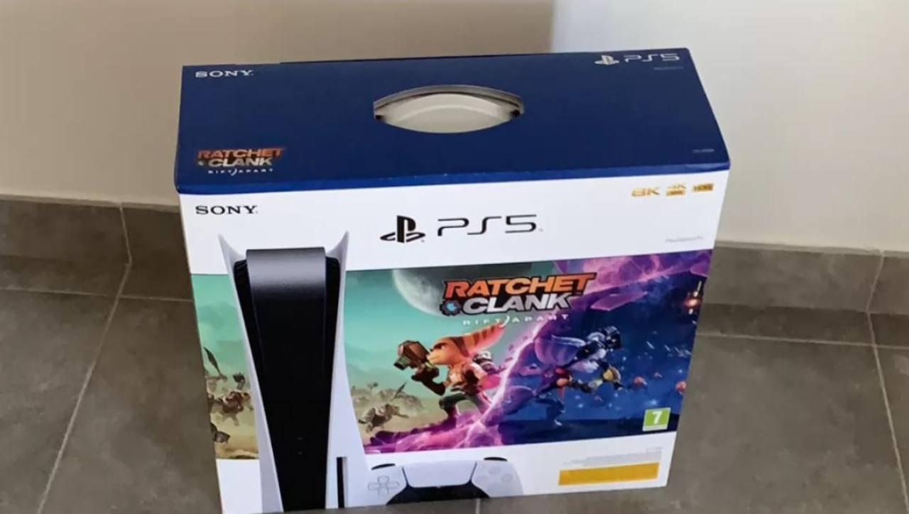 Bundle PS5 + Ratchet & Clank in vendita da Mediaworld