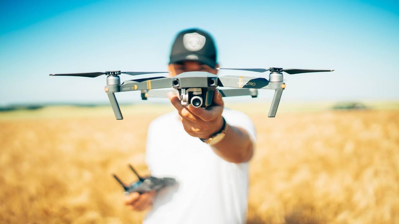 Modello di drone
