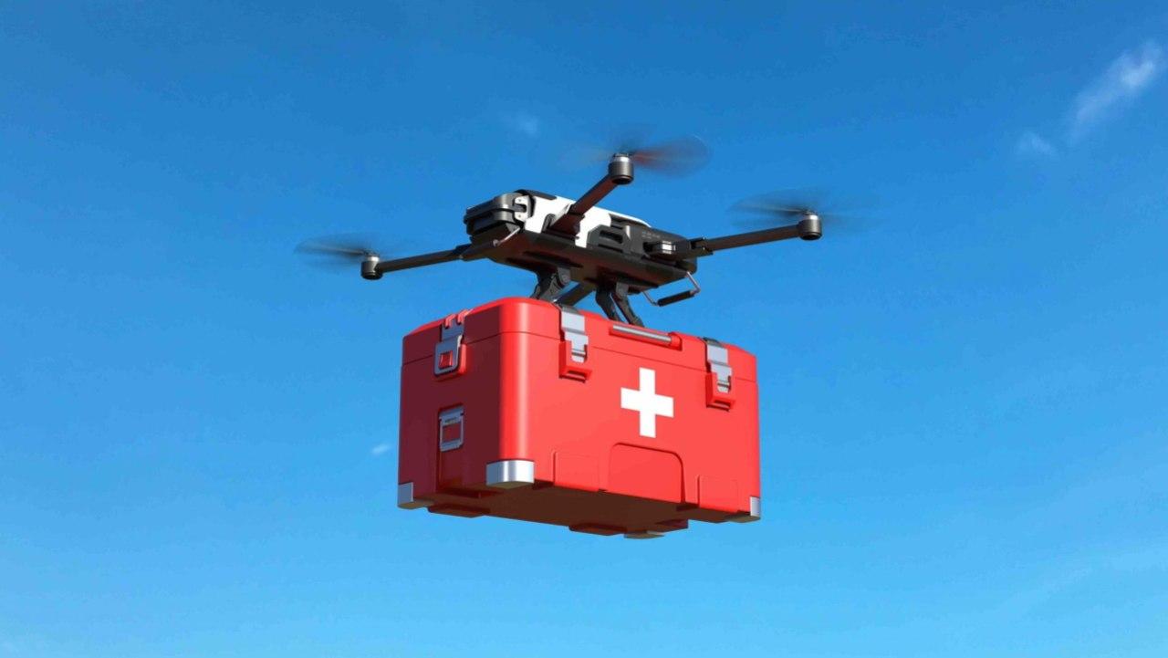 Droni trasporto organi in Italia (Foto Hwupgrade)