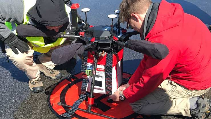 In Italia attivi i droni che trasportano organi (Foto Repubblica)