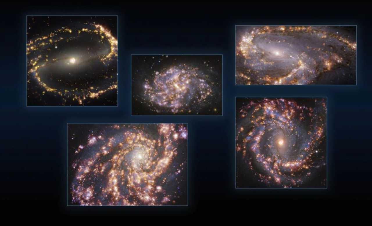 Immagini dell'universo e delle galassie (Foto ESO, Rai)