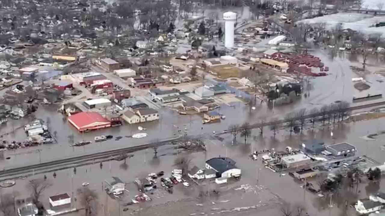 Studio Nasa sulle inondazioni (Foto Rsi.ch)