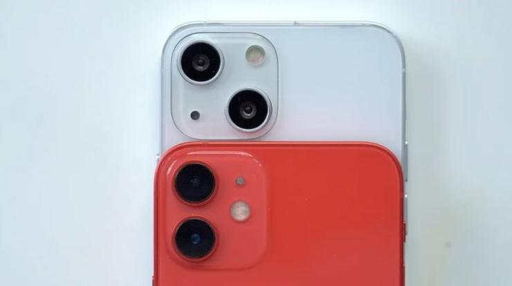 l'iPhone 13 (Foto MacRumors)