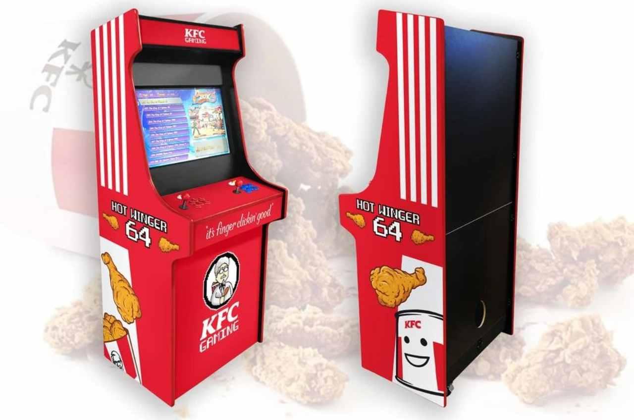 KFC lancia la console cabinata