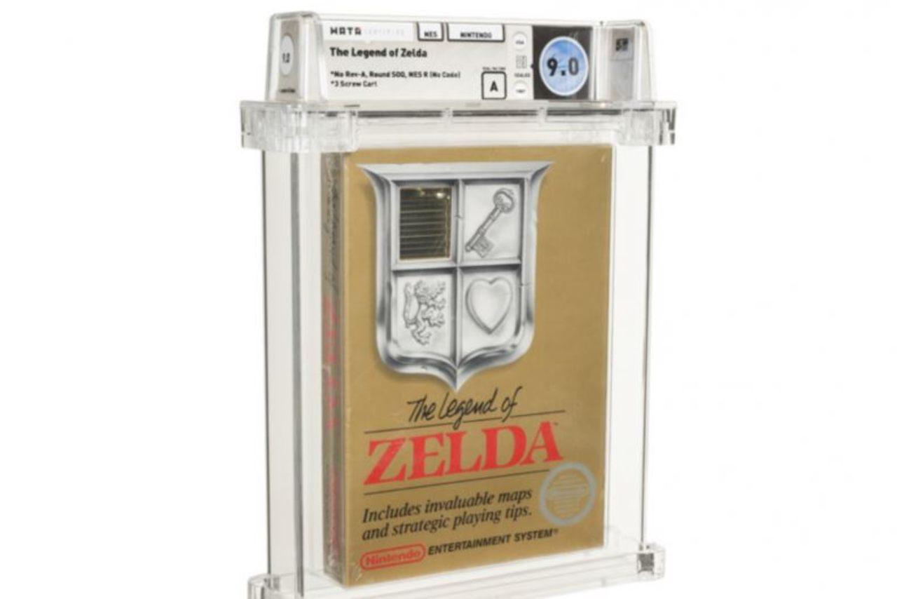 Legend of Zelda all'asta