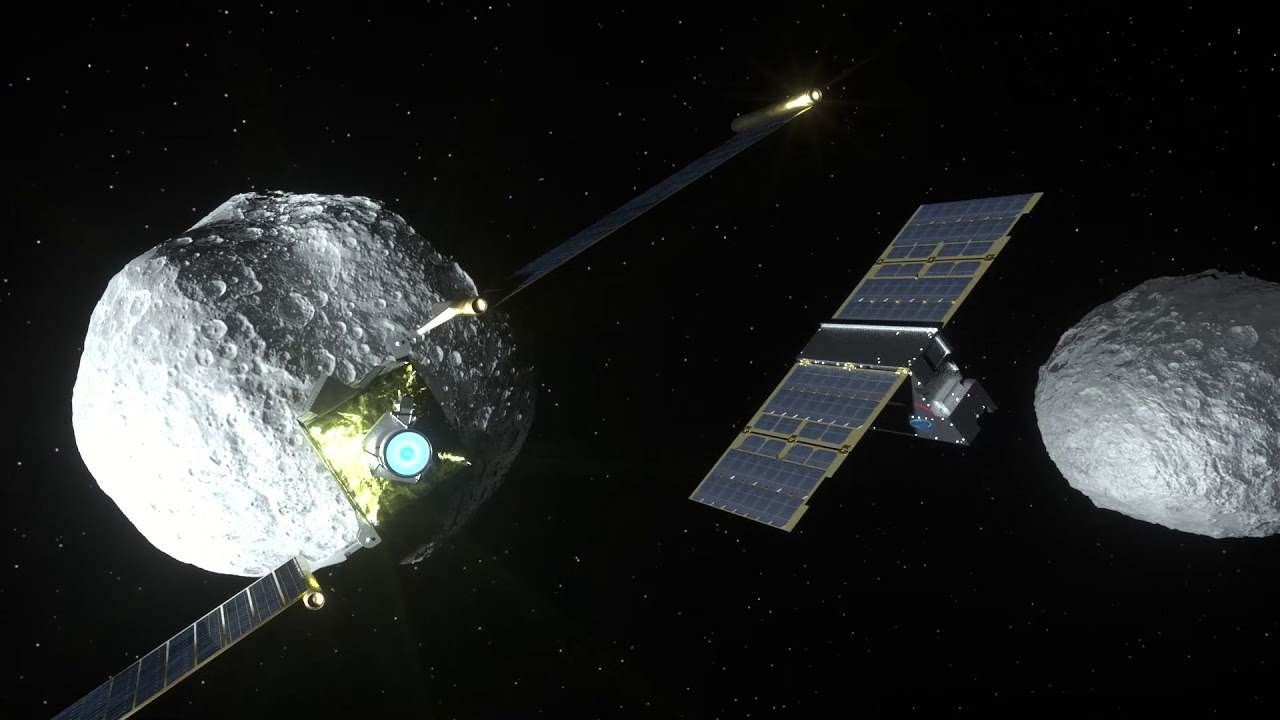 LICIACube, il satellite italiano (Foto Ansa)