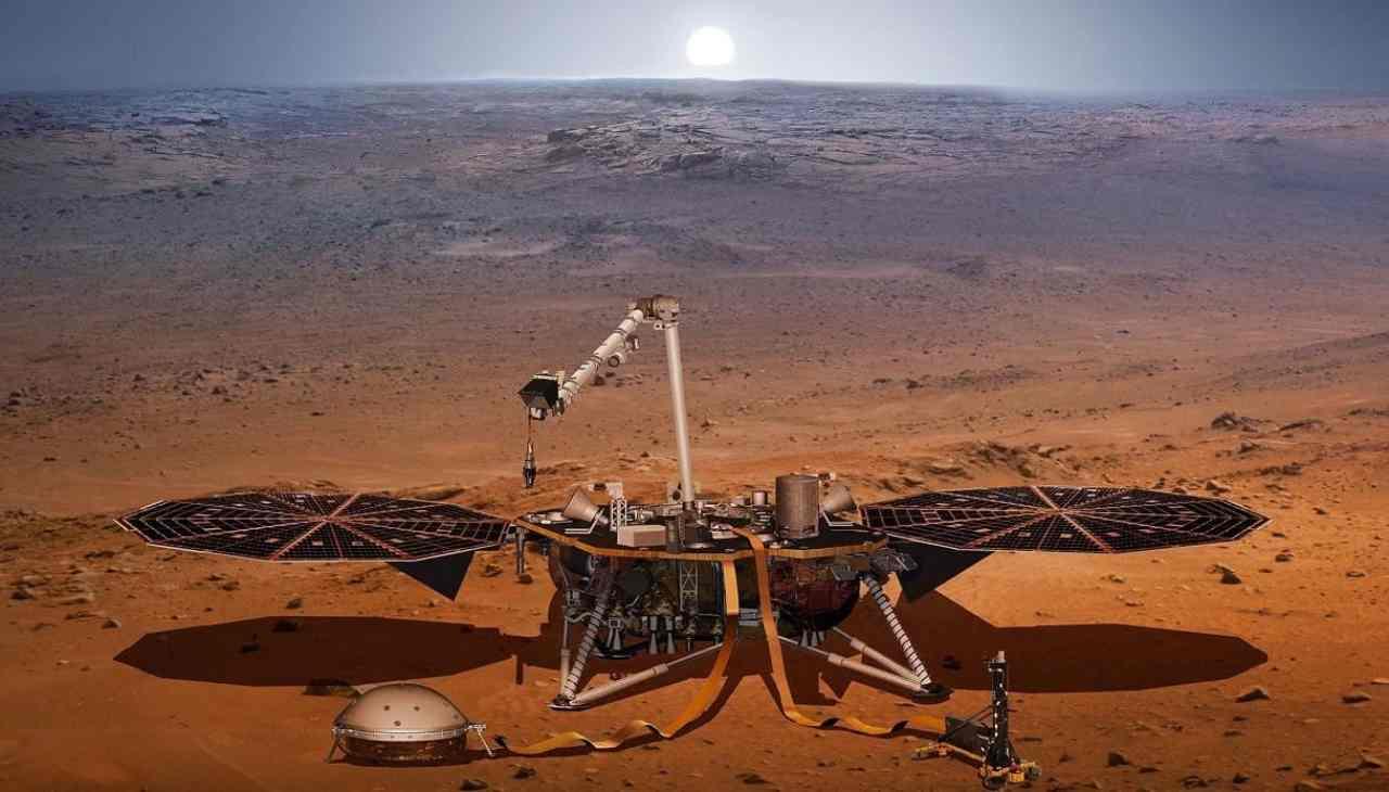 InSight ha mappato il cuore di Marte (Foto Libero)
