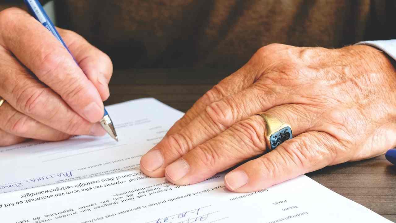 Documento da firmare