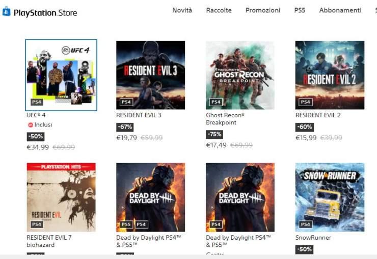 PlayStation Store, al via i saldi e le promo estive